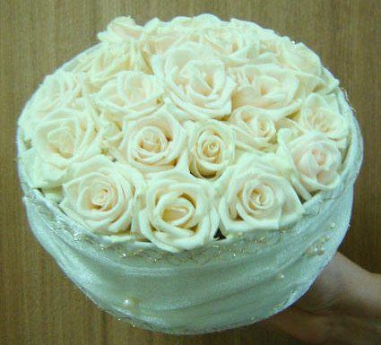 Букет-коробочка из роз