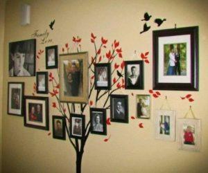 Несколько оригинальных способов оригинально украсить стены