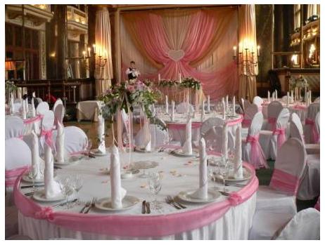 Ключевые особенности оформления свадебного зала